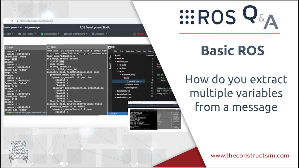 [ROS Q&A] 188 – How do you extract multiple variables from a ROS message