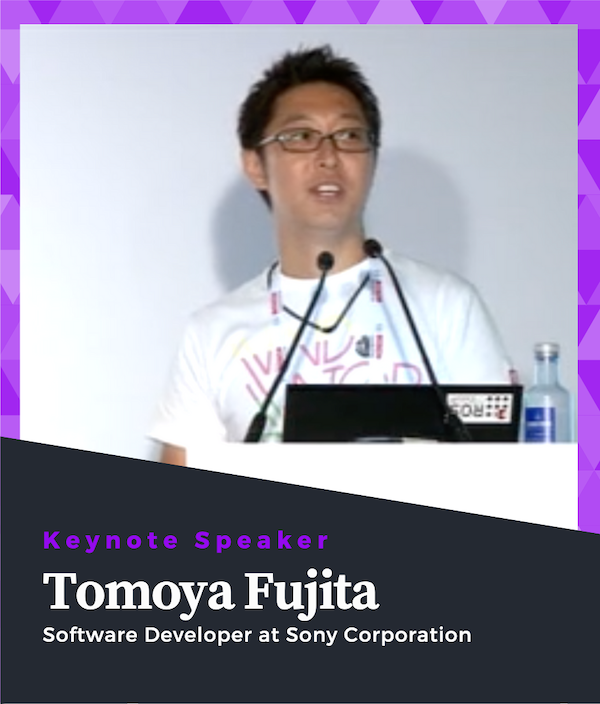 Tomoya Fujita Keynote Speaker ROS Developers Conference 2019