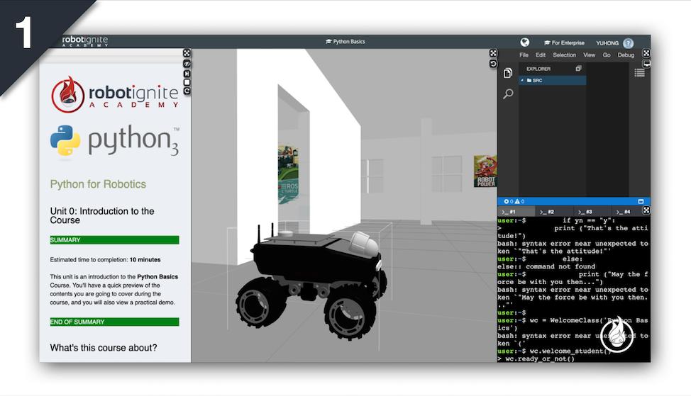 Introduction to Python for Robotics