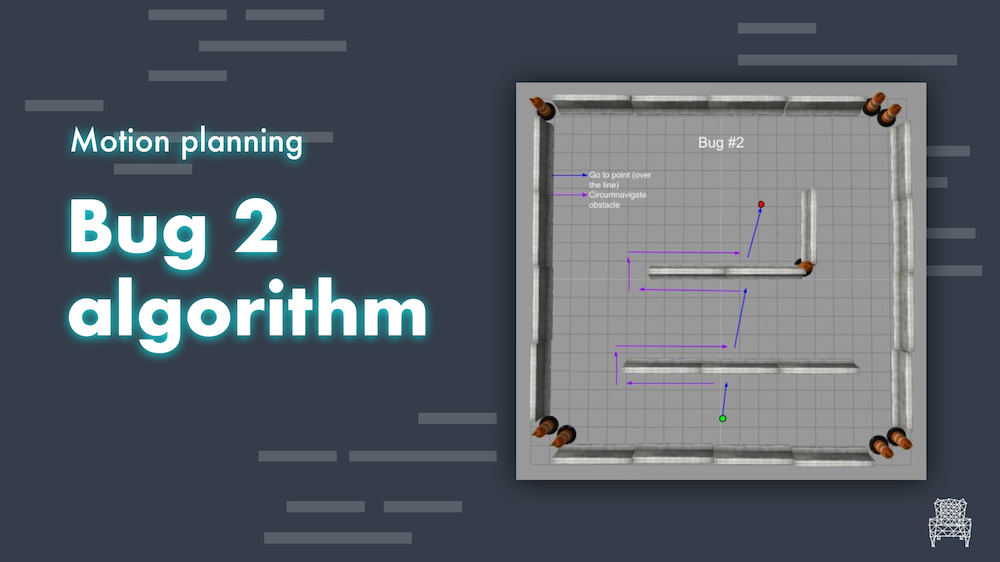 Motion planning algorithms Bug2