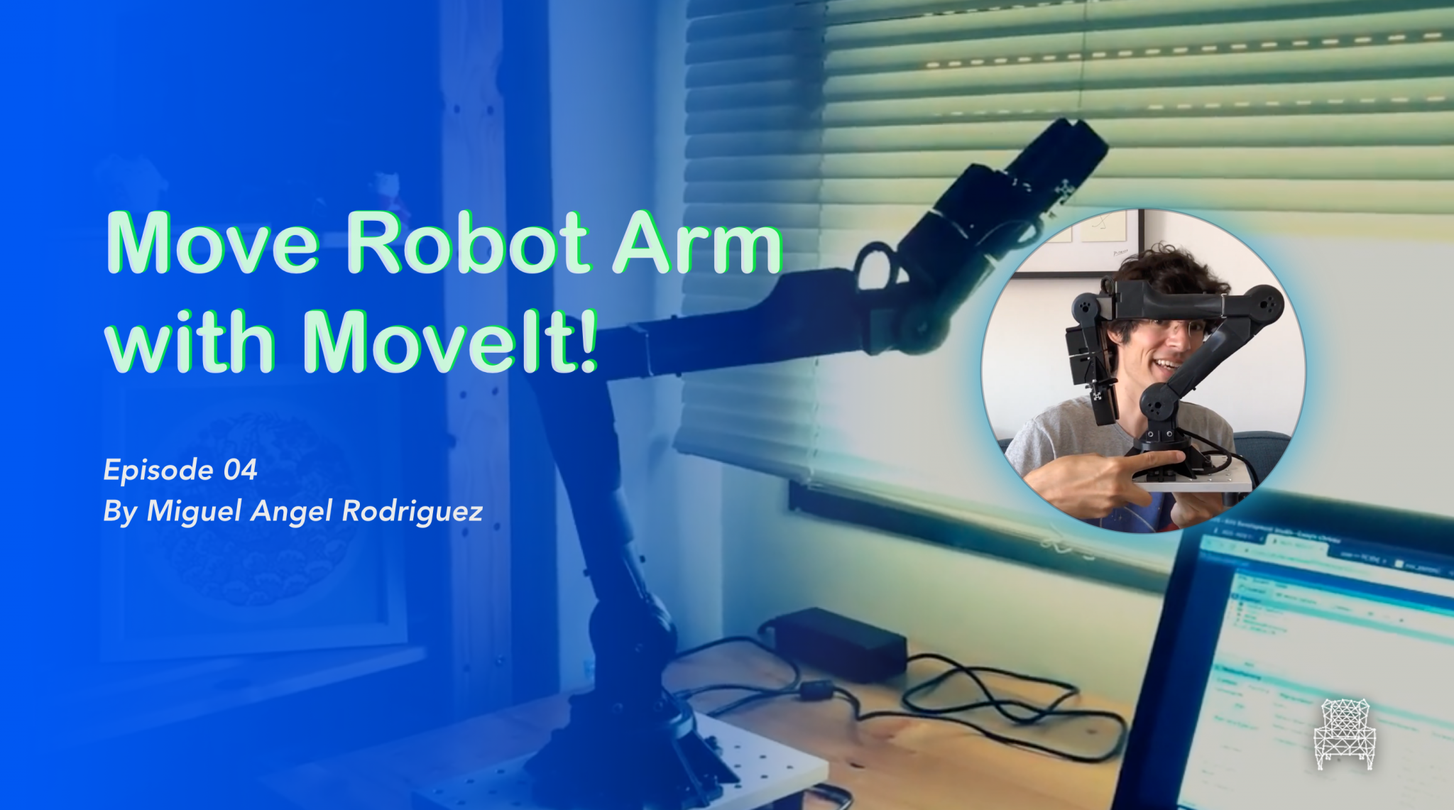 [Morpheus Chair] Move Robot Arm with MoveIt!  | S4.Ep.4