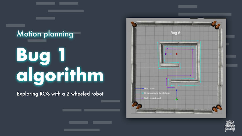 motion planning Bug 1 algorithm
