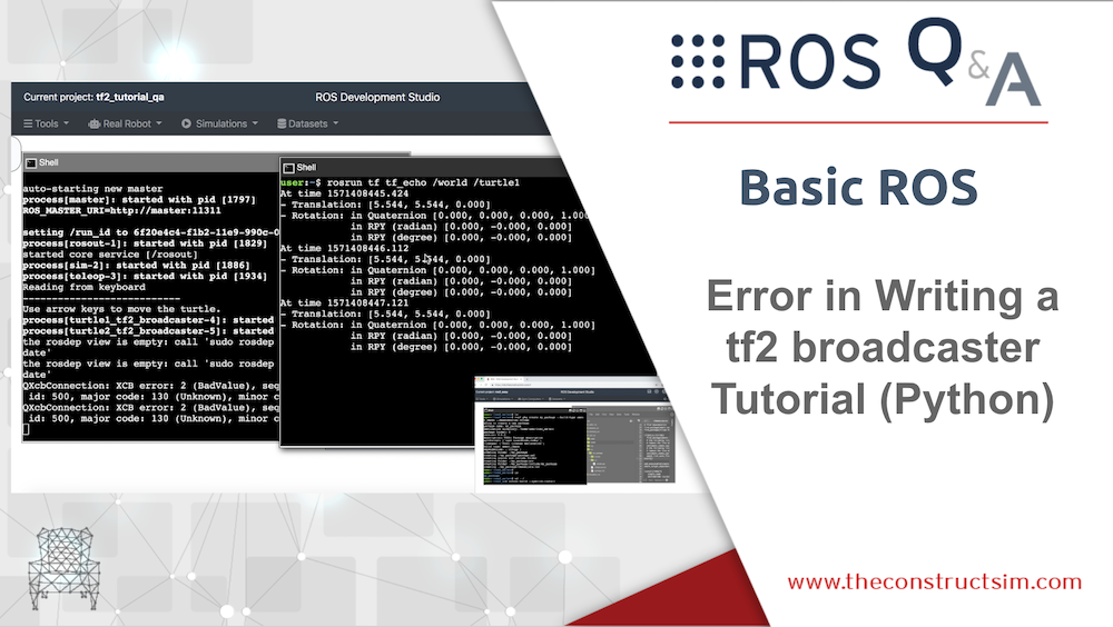 [ROS Q&A] 197 – Error in Writing a tf2 broadcaster Tutorial (Python)