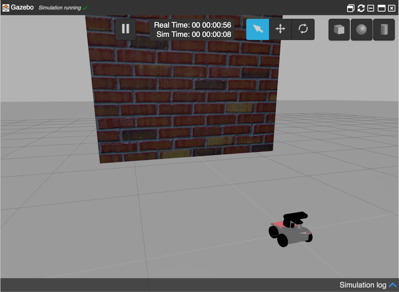 [ROS Mini Challenge] #5 – make a robot detect and avoid an obstacle