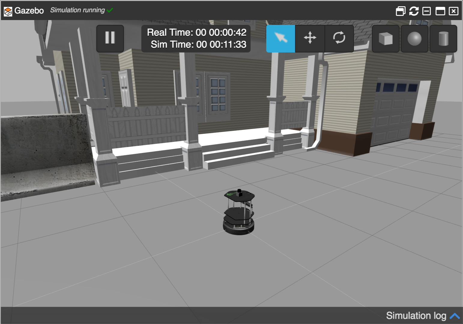 [ROS Mini Challenge] #1 – Make a robot rotate according to user input