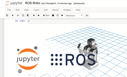 Jupyter ROS: embedding ROS Data Visualization on Jupyter notebooks