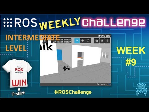 ROS Mini Challenge #9 – Fusing data to improve robot localization with ROS