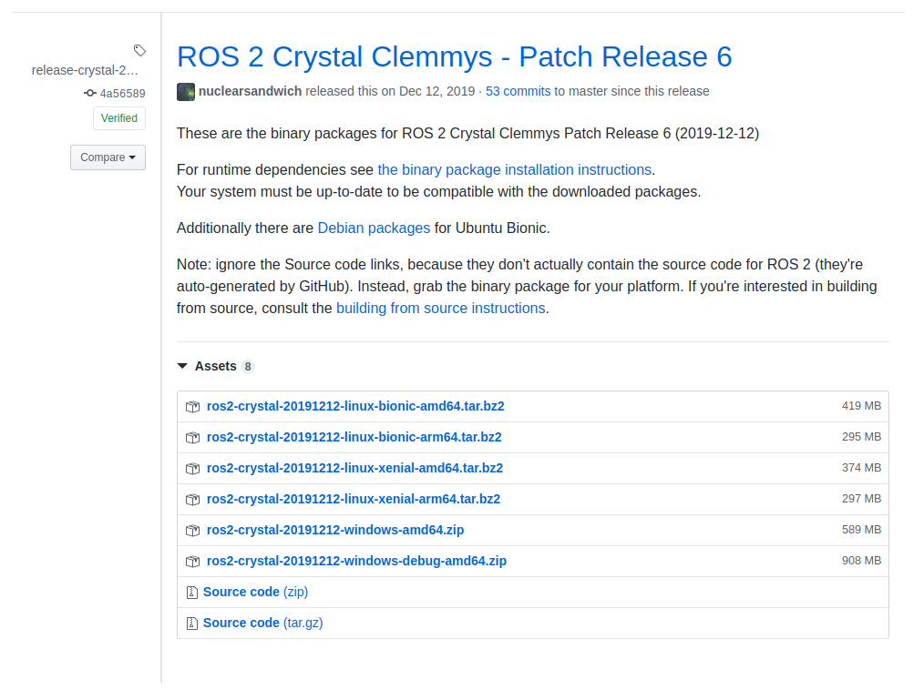 How to Install ROS 2 Crystal over Ubuntu 18.04 and ROS Melodic