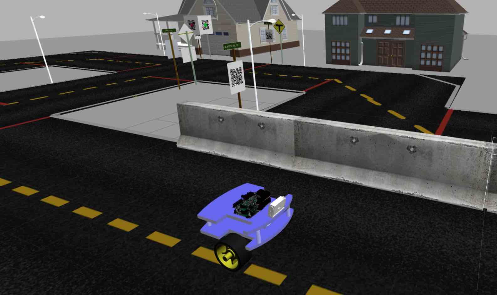 6- Robot Autonomous Navigation line following
