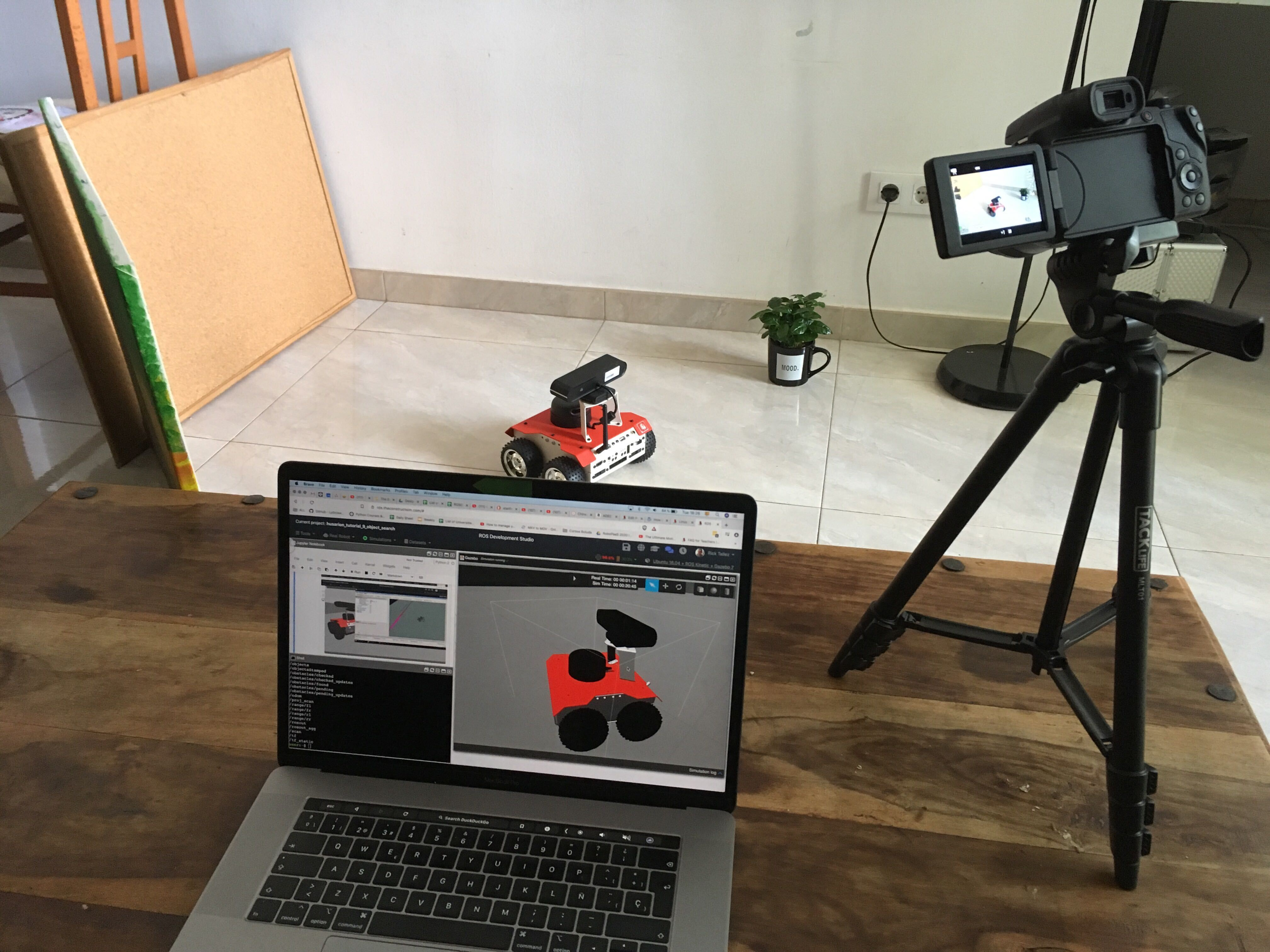 Teaching Robotics to University Students from Home