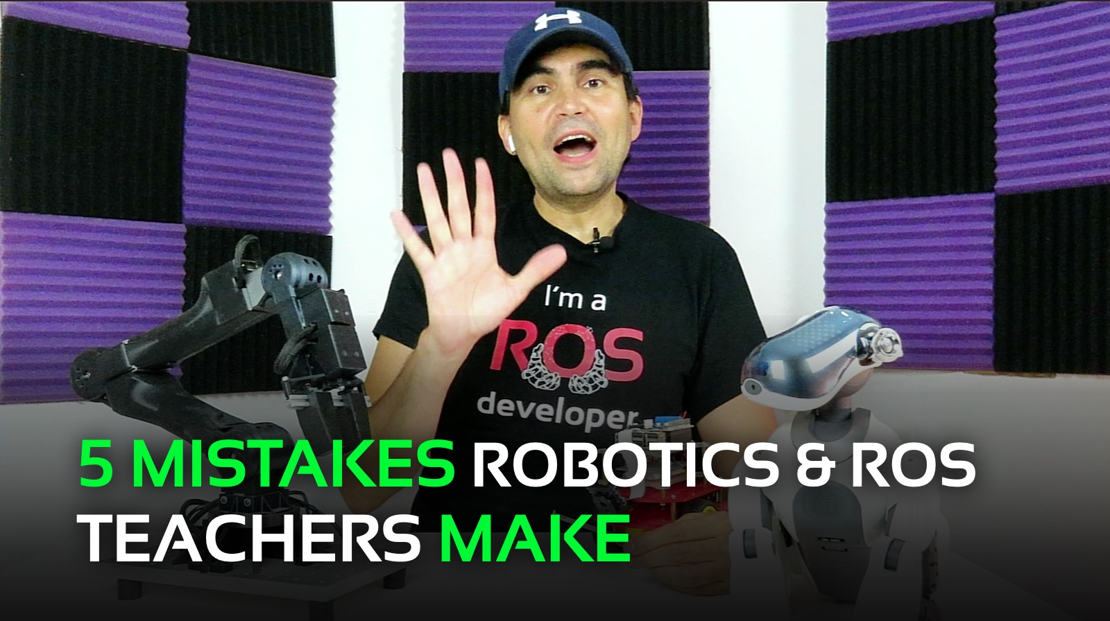 5 Mistakes Robotics & ROS Teachers Make