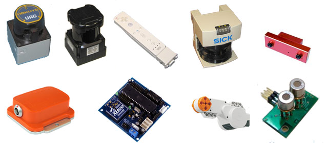 A list of ROS2 supported sensors for robots